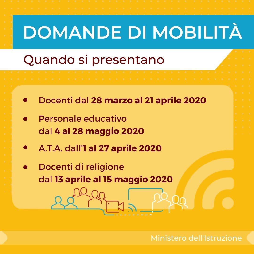 ordinanza mobilità a.s. 2020/2021
