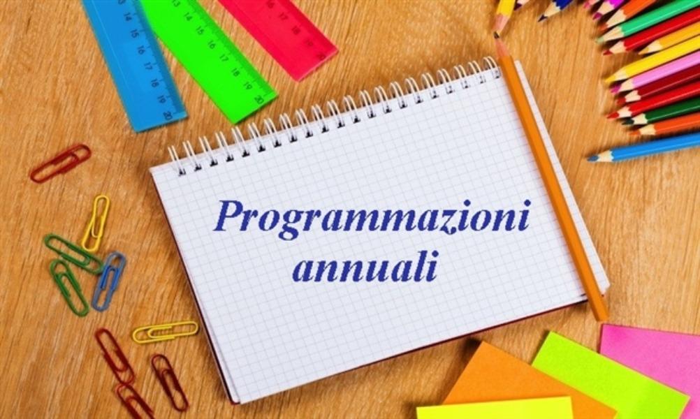 Programmazioni/progetti di potenziamento